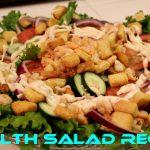 HEALTHY SALAD RECIPE…ENSALADA SALUDABLE