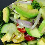 Cucumber Tomato Avocado Salad Recipe|Cucumber Salad|Avocado Salad Recipe| Tomato Avocado salad