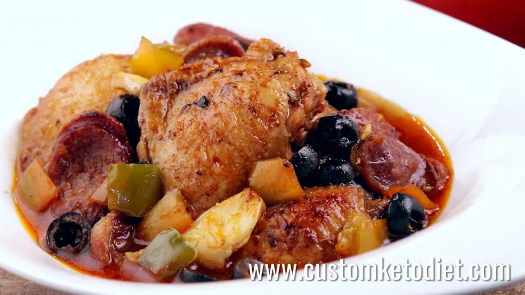Keto Chicken & Chorizo Stew Recipe
