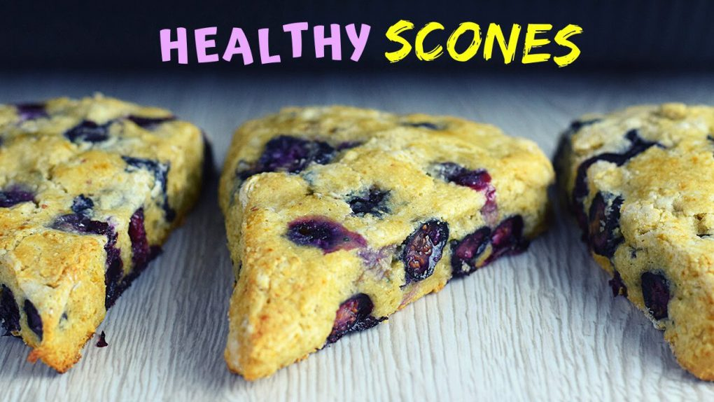 Easy Scones Recipe (with Oats and Blueberries!)