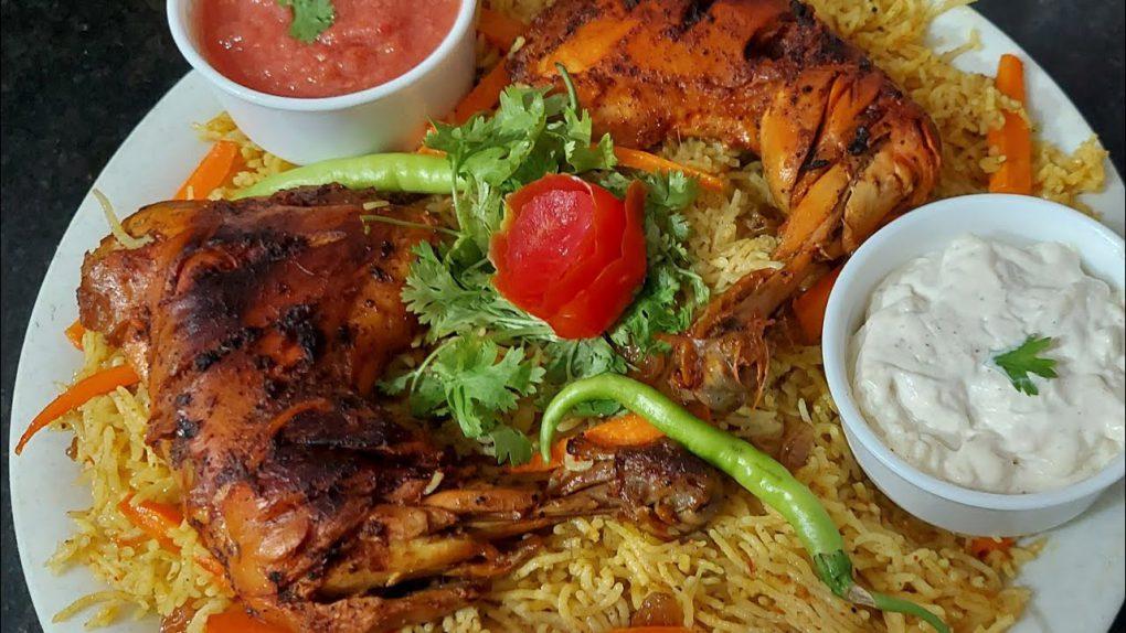 Ruz buqaari with mayonnaise and tomato chutney | easy way tasty recipe| Eid series