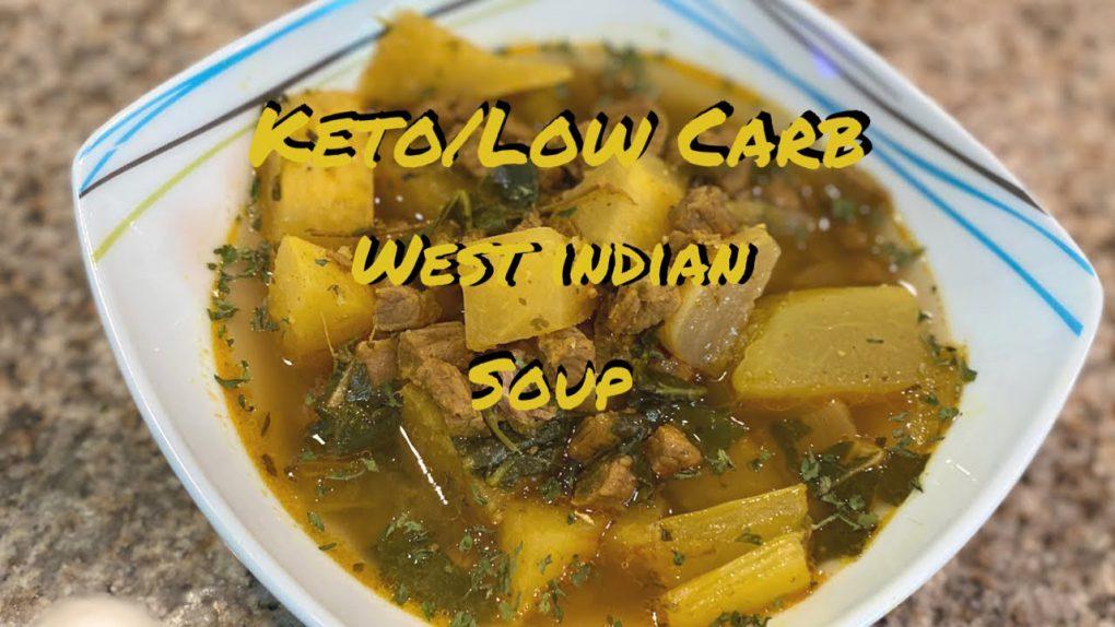 KETO/ LOW CARB JAMAICAN SOUP   KETOGENIC DIET FALL RECIPE  BONE BROTH   KETO RECIPES