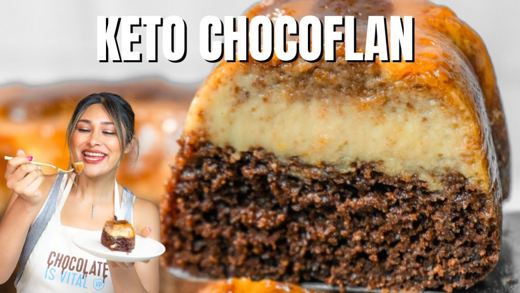 KETO CHOCOFLAN CAKE! EASY LOW CARB KETO DESSERT RECIPE
