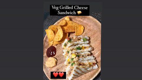 Veg Grilled Sandwich Recipe   Easy Sandwich Recipe   #shorts   5 Minutes Sandwich   Swatistaan