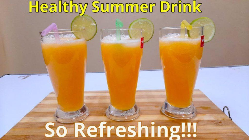 Healthy Melon Juice//Vegetarian Recipes