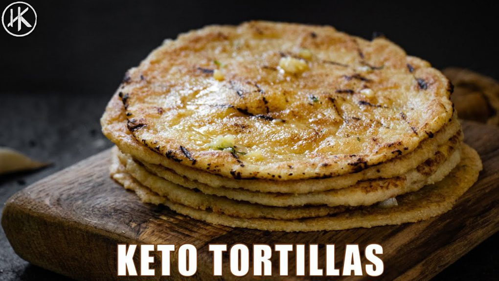 Keto Tortillas   How to make Keto Tortillas with almond flour (ONLY 1 NET CARB)