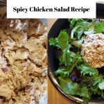 Spicy Chicken Salad Recipe | Quick and Easy Low Carb Recipe