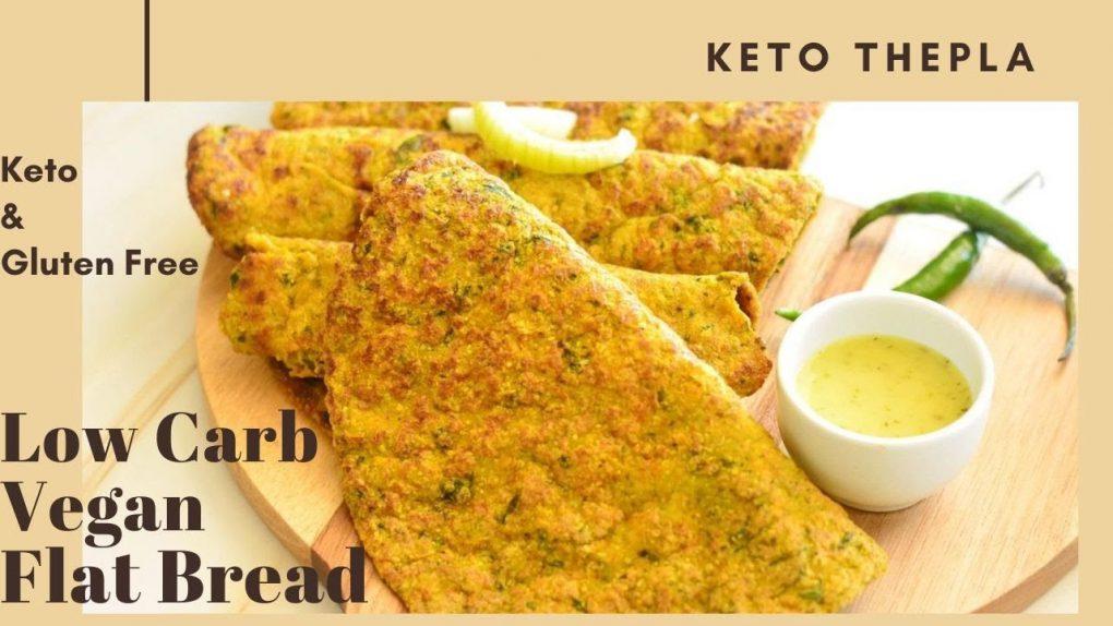 Keto Roti   Vegetarian keto roti    Keto Thepla/tortilla   Keto Recipes   Low Carb