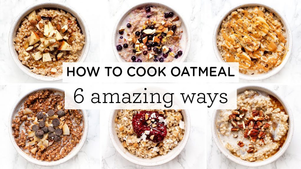 HOW TO COOK OATMEAL ‣‣ 6 Amazing Steel Cut Oatmeal Recipes