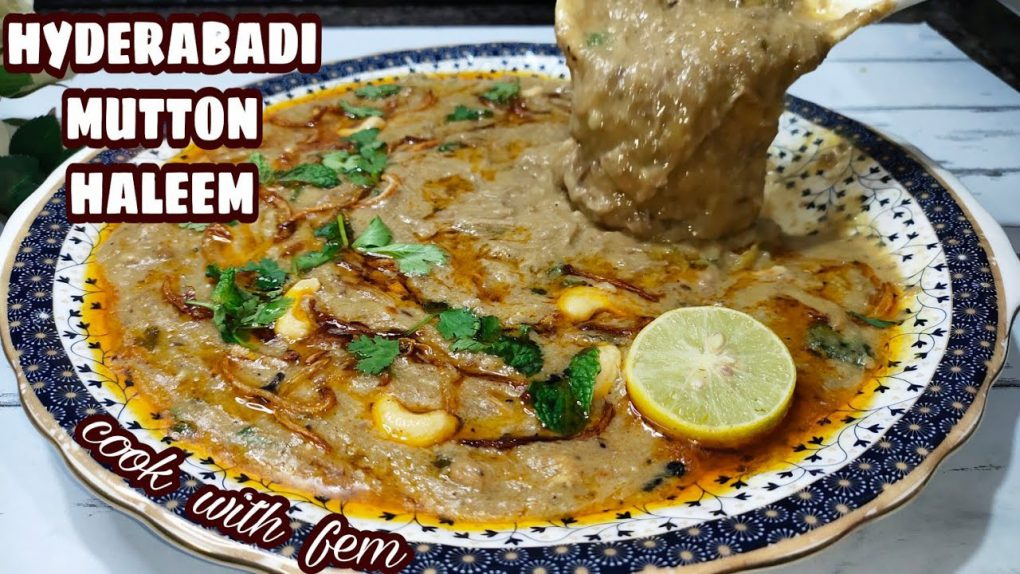 World Famous Hyderabadi Mutton Haleem | Reshedar Haleem Restaurant Style  | Easy Haleem Recipe – CWF
