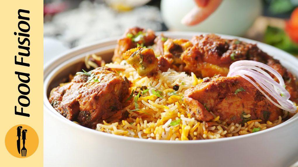 Eid Special Smoky Chicken Tikka Biryani Recipe By Food Fusion
