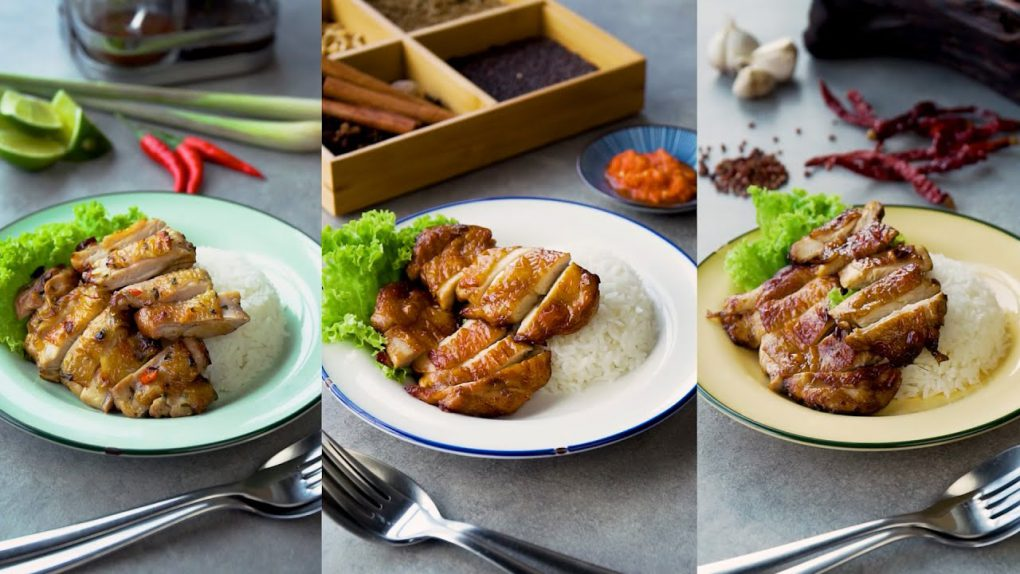 Air Fryer Grilled Chicken Recipes – 3 Marinades!