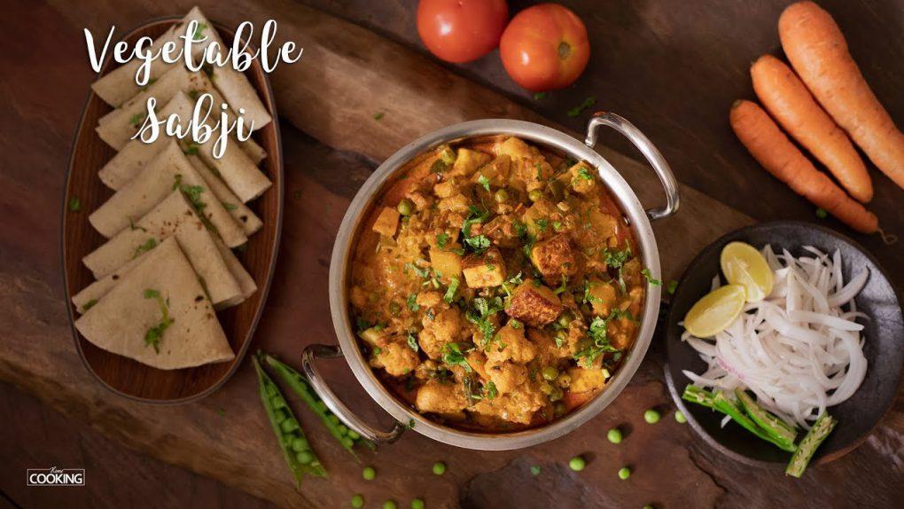Vegetable Sabji   Side dish for Roti & Chapati