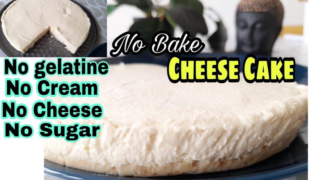 No Bake Cheese Cake   Pure Vegetarian Cake   Keto / Lchf Recipes for Weightloss Telugu Superhumans