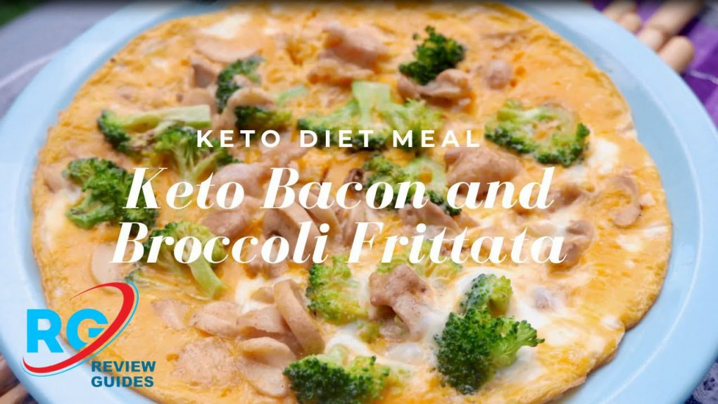Keto Bacon and Broccoli Frittata   Best Keto Diet Recipes