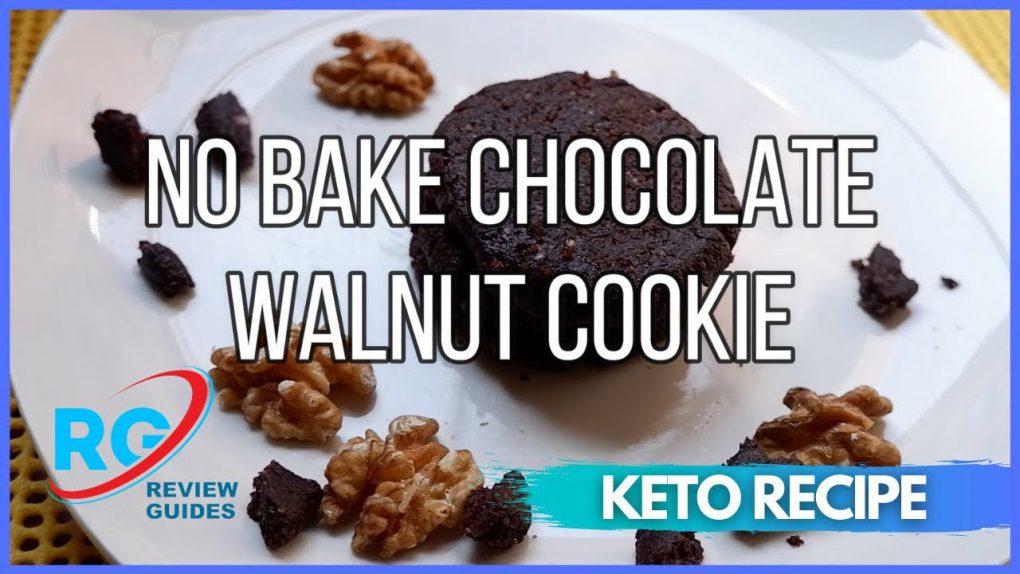 Keto No Bake Chocolate Walnut Cookie   Best Keto Diet Recipes
