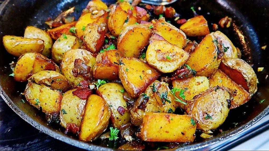 So Good! Pan Fried Potatoes Recipe