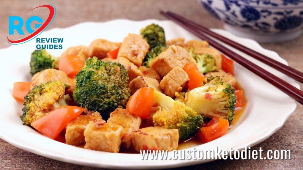Keto Hunan Style Quorn & Broccoli Stir Fry   Best Keto Diet Recipes
