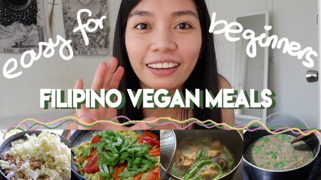 filipino vegan meals for beginners (easy)   a week in the life of a pinoy vegan
