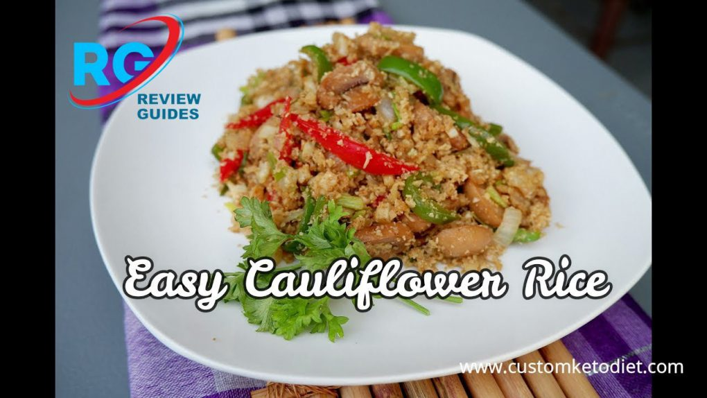 Keto Easy Cauliflower Rice   Best Keto Diet Recipes