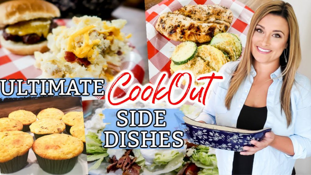 COOKOUT SIDE DISHES   BUDGET FRIENDLY SIDE DISHES   EASY BBQ SIDE DISH FAVS   CookCleanAndRepeat