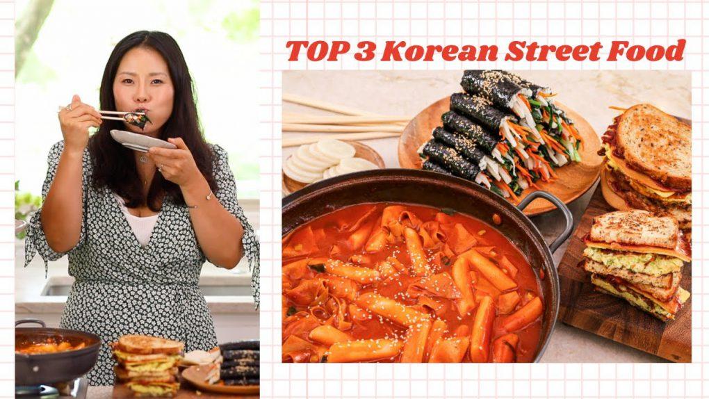 My Top 3 Korean Street Food Recipes Tteokbokki, Kimbap and Korean Street Toast ALL VEGAN