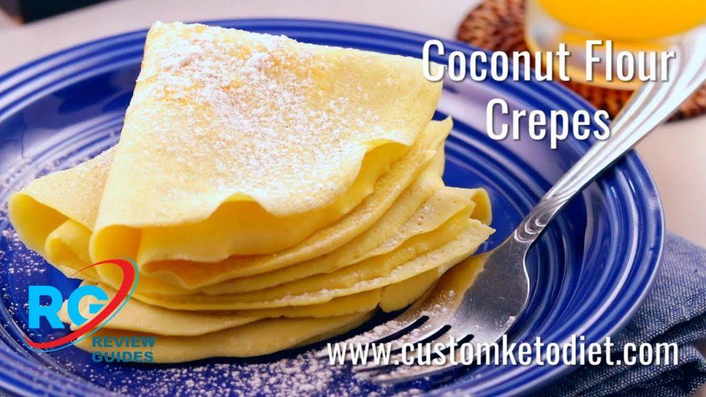 Keto Coconut Flour Crepes   Best Keto Diet Recipes