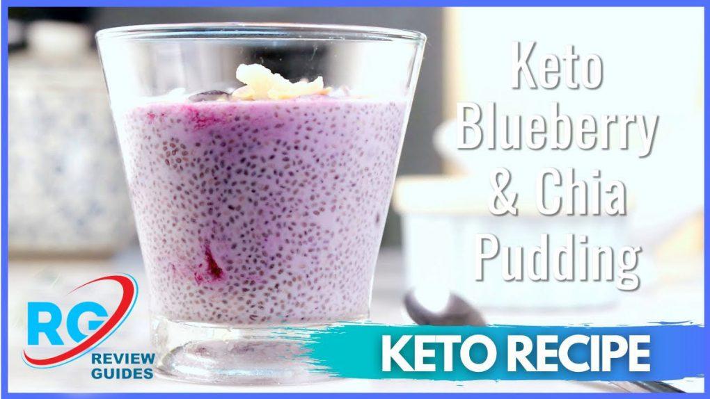 Keto Blueberry Pudding   Best Keto Diet Recipes