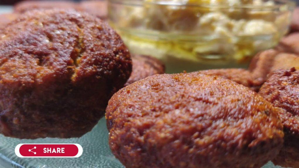 falafel recipe, how to make chickpeas falafel, Indian vegetarian recipes,  healthy recipes