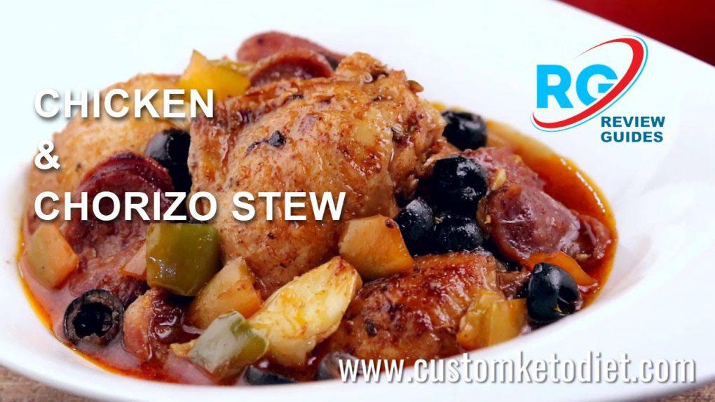 Keto Chicken & Chorizo Stew   Best Keto Diet Recipes