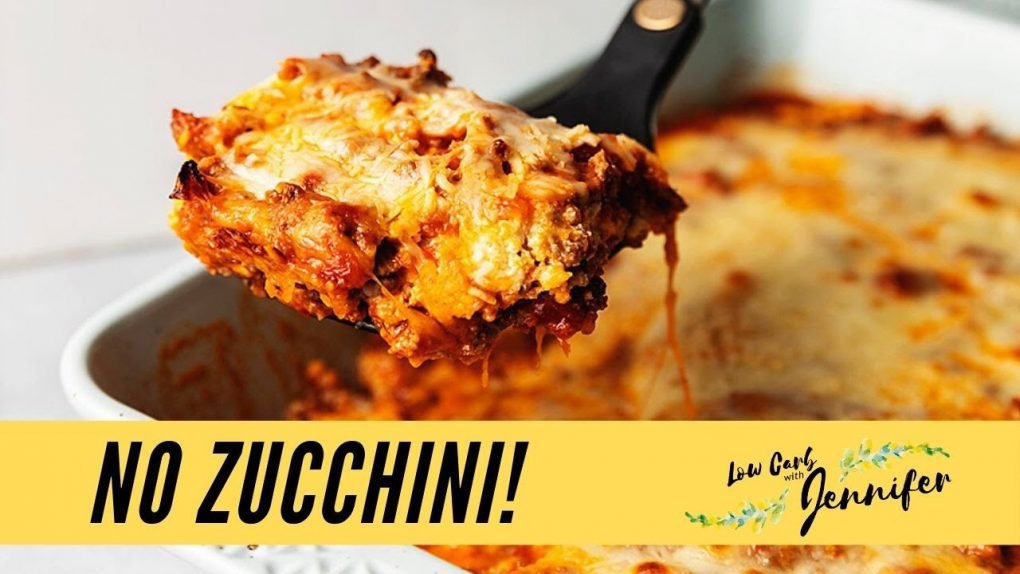 The Best Keto Lasagna Ever!