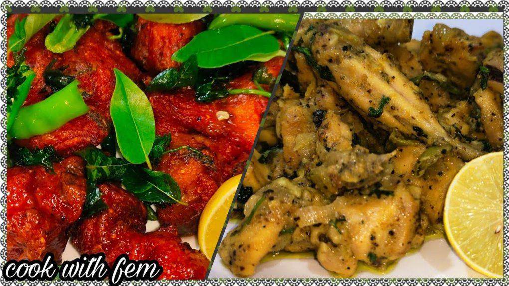 Chicken 65 Original Chennai Style & Lemon Pepper Chicken Dry Roast – Two Best Recipes From CWF