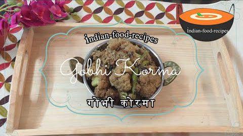 Phoolgobhi Korma (Cauliflower Recipe) Pure #Vegetarian #recipes for Lunch & Dinner