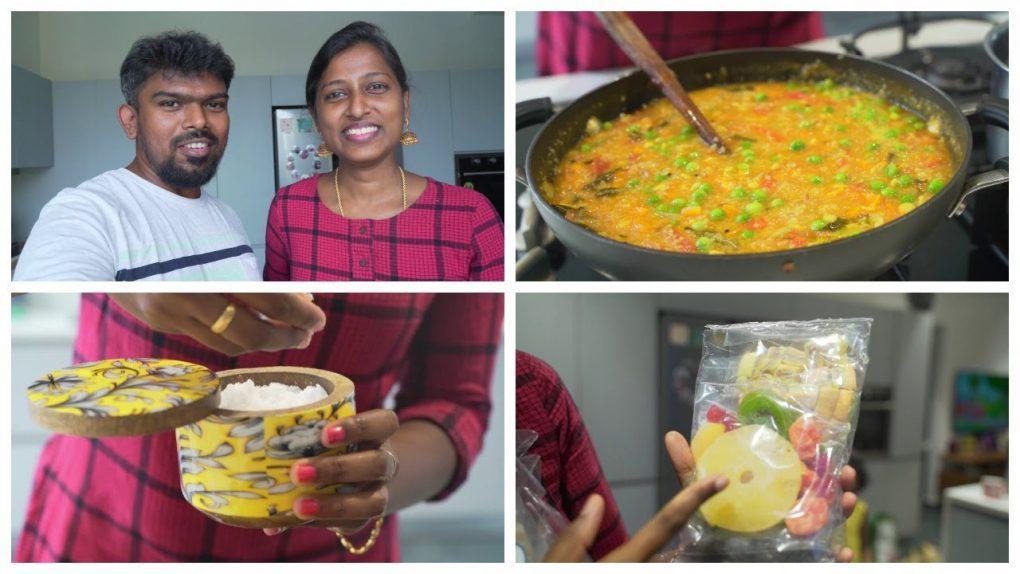 Have you heard of gingee tea? Healthy broken wheat veg porridge recipe/#summerskinrefreshment